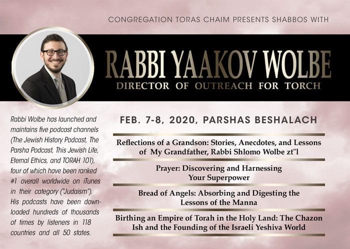 A Shabbos with Rabbi Yaakov Wolbe 1