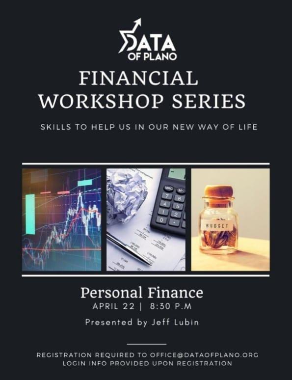 Financial Workshop Series 1