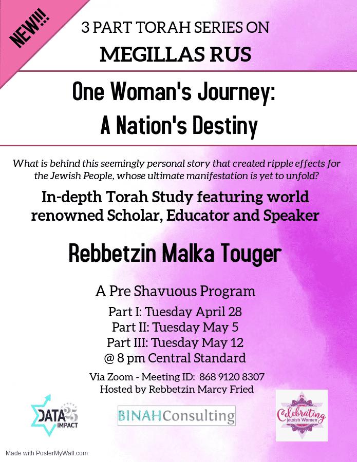 One Woman's Journey: A Nation's Destiny 1