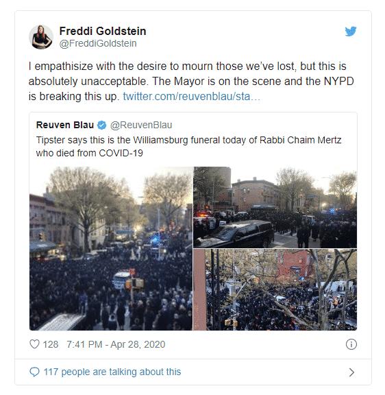 DOUBLE STANDARD: DeBlasio & NYPD Break Up Massive Funeral But Ignore Massive Airshow Crowds 4