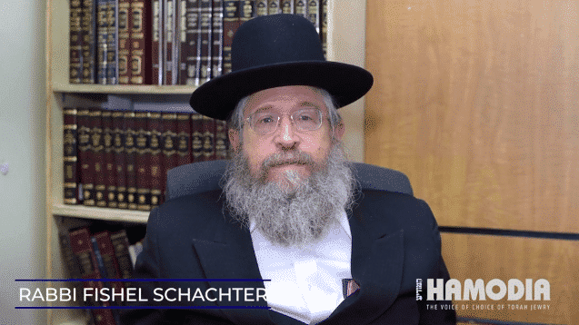 Weekly D'Var Torah by Rabbi Fishel Schachter 1