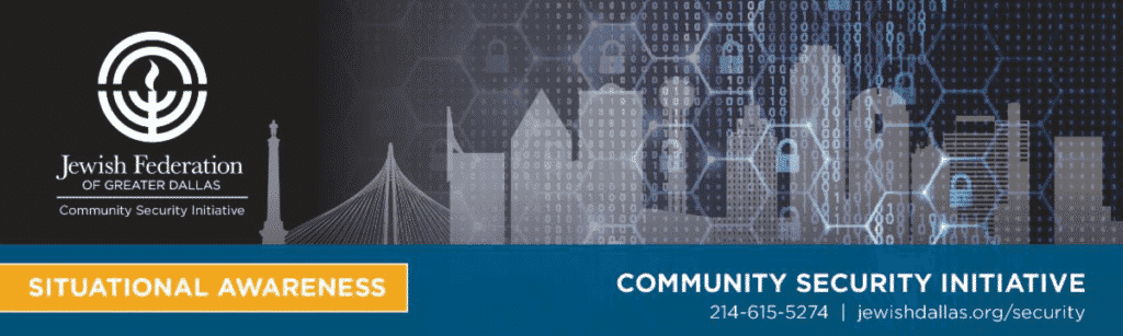 An Important Message from Director of Community Security | June 2, 2020 1